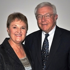 The Rev. Dr. Dale G. Gatz and Ms. Yvonne K. Gatz, Wartburg's former President and First Lady.